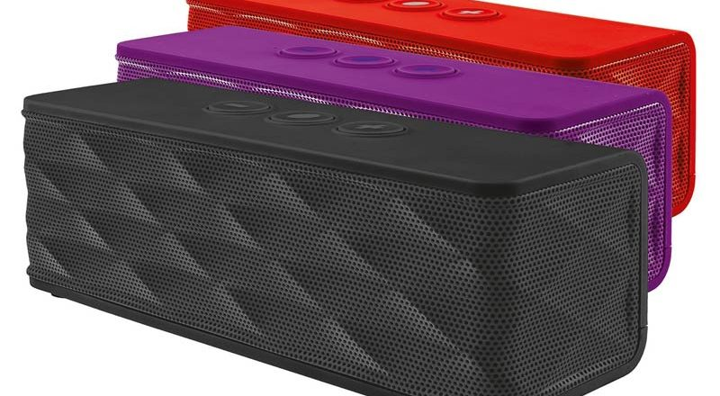 Cassa Audio Trust Jukebar  Bluetooth per smartphones e tablets Nero